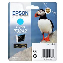 Epson - Epson T3242-C13T32424010 Mavi Orjinal Kartuş