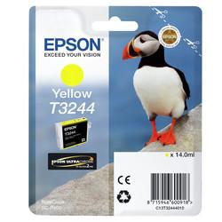 Epson - Epson T3244-C13T32444010 Sarı Orjinal Kartuş