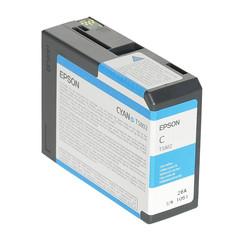 Epson - Epson T5802-C13T580200 Mavi Orjinal Kartuş