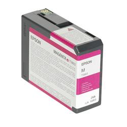 Epson - Epson T5803-C13T580300 Kırmızı Orjinal Kartuş