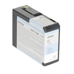 Epson - Epson T5805-C13T580500 Açık Mavi Orjinal Kartuş