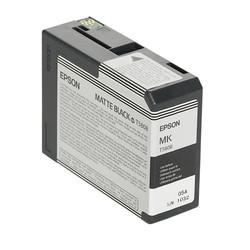 Epson - Epson T5808-C13T580800 Mat Siyah Orjinal Kartuş