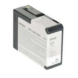 Epson - Epson T5809-C13T580900 Açık Açık Siyah Orjinal Kartuş
