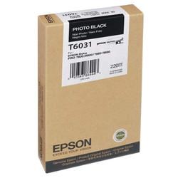 Epson - Epson T6031-C13T603100 Foto Siyah Orjinal Kartuş