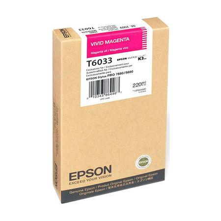Epson T6033-C13T603300 Kırmızı Orjinal Kartuş