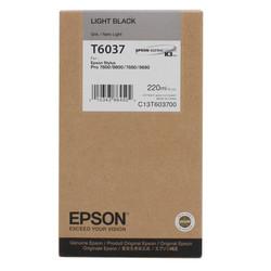 Epson - Epson T6037-C13T603700 Açık Siyah Orjinal Kartuş