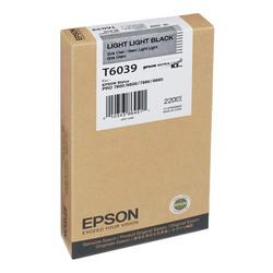Epson - Epson T6039-C13T603900 Açık Açık Siyah Orjinal Kartuş
