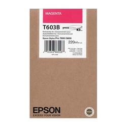 Epson - Epson T603B-C13T603B00 Kırmızı Orjinal Kartuş