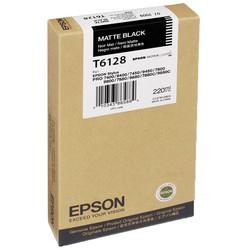 Epson T6128-C13T612800 Mat Siyah Orjinal Kartuş - Thumbnail