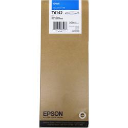Epson - Epson T6142-C13T614200 Mavi Orjinal Kartuş