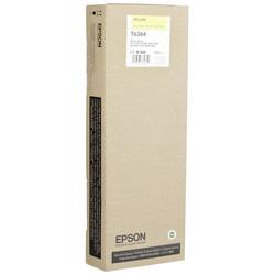Epson - Epson T6364-C13T636400 Sarı Orjinal Kartuş