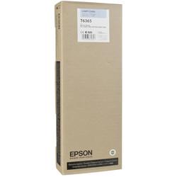 Epson - Epson T6365-C13T636500 Açık Mavi Orjinal Kartuş