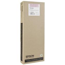 Epson - Epson T6366-C13T636600 Açık Kırmızı Orjinal Kartuş