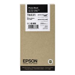 Epson - Epson T6531-C13T653100 Foto Siyah Orjinal Kartuş