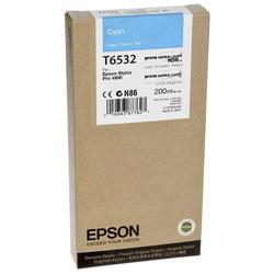 Epson - Epson T6532-C13T653200 Mavi Orjinal Kartuş
