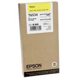 Epson - Epson T6534-C13T653400 Sarı Orjinal Kartuş