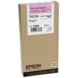 Epson - Epson T6536-C13T653600 Açık Kırmızı Orjinal Kartuş