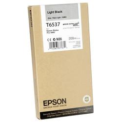 Epson - Epson T6537-C13T653700 Açık Siyah Orjinal Kartuş