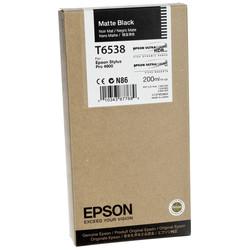 Epson - Epson T6538-C13T653800 Mat Siyah Orjinal Kartuş