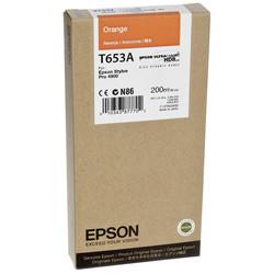 Epson - Epson T653A-C13T653A00 Turuncu Orjinal Kartuş