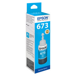 Epson - Epson T6732-C13T67324A Mavi Orjinal Mürekkep