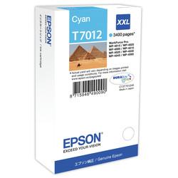 Epson - Epson T7012XXL-C13T70124010 Mavi Orjinal Kartuş