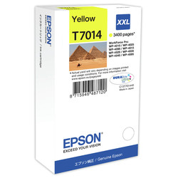Epson - Epson T7014XXL-C13T70144010 Sarı Orjinal Kartuş