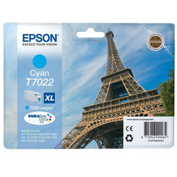 Epson - Epson T7022XL-C13T70224010 Mavi Orjinal Kartuş