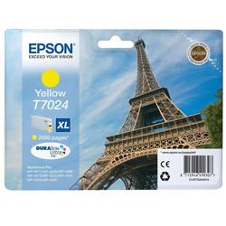 Epson - Epson T7024XL-C13T70244010 Sarı Orjinal Kartuş