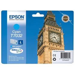 Epson - Epson T7032-C13T70324010 Mavi Orjinal Kartuş