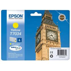 Epson - Epson T7034-C13T70344010 Sarı Orjinal Kartuş