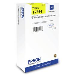 Epson - Epson T7554-C13T755440 Sarı Orjinal Kartuş Yüksek Kapasiteli