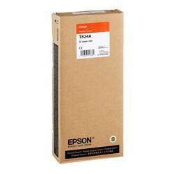 Epson - Epson T824A-C13T824A00 Turuncu Orjinal Kartuş