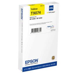 Epson - Epson T9074-C13T907440 Sarı Orjinal Kartuş Yüksek Kapasiteli