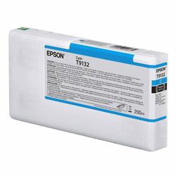 Epson - Epson T9132-C13T913200 Mavi Orjinal Kartuş