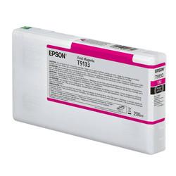 Epson - Epson T9133-C13T913300 Kırmızı Orjinal Kartuş