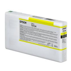 Epson - Epson T9134-C13T913400 Sarı Orjinal Kartuş