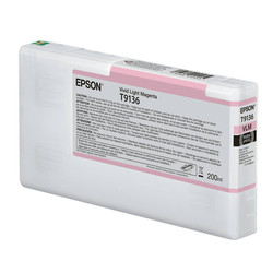 Epson - Epson T9136-C13T913600 Açık Kırmızı Orjinal Kartuş