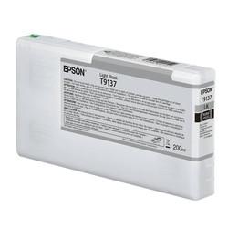 Epson - Epson T9137-C13T913700 Açık Siyah Orjinal Kartuş