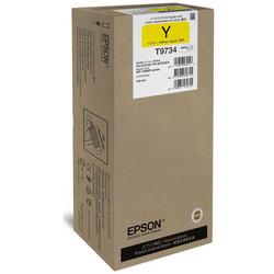 Epson - Epson T9734XL-C13T973400 Sarı Orjinal Kartuş Yüksek Kapasiteli
