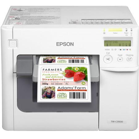 Epson TM-C3500 Renkli Etiket Yazıcı