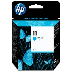 HP - Hp 11-C4836A Mavi Orjinal Kartuş