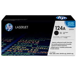 HP - Hp 124A-Q6000A Siyah Orjinal Toner