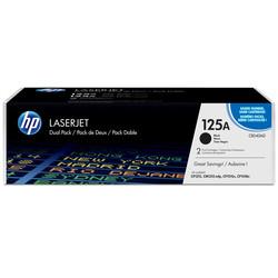 HP - Hp 125A-CB540AD Siyah Orjinal Toner İkili Paket