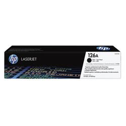 HP - Hp 126A-CE310A Siyah Orjinal Toner