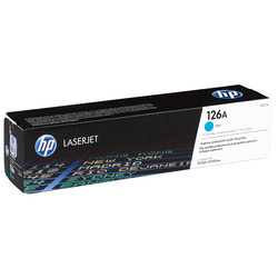 HP - Hp 126A-CE311A Mavi Orjinal Toner