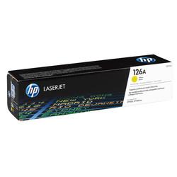 HP - Hp 126A-CE312A Sarı Orjinal Toner