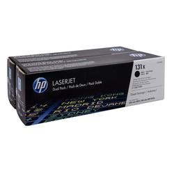 HP - Hp 131X-CF210XD Siyah Orjinal Toner Yüksek Kapasiteli İkili Paket