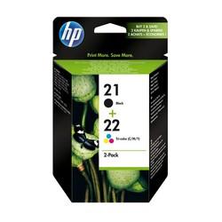 HP - Hp 21-22-SD367AE Orjinal Kartuş İkili Paketi