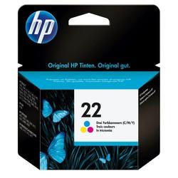 HP - Hp 22-C9352A Renkli Orjinal Kartuş